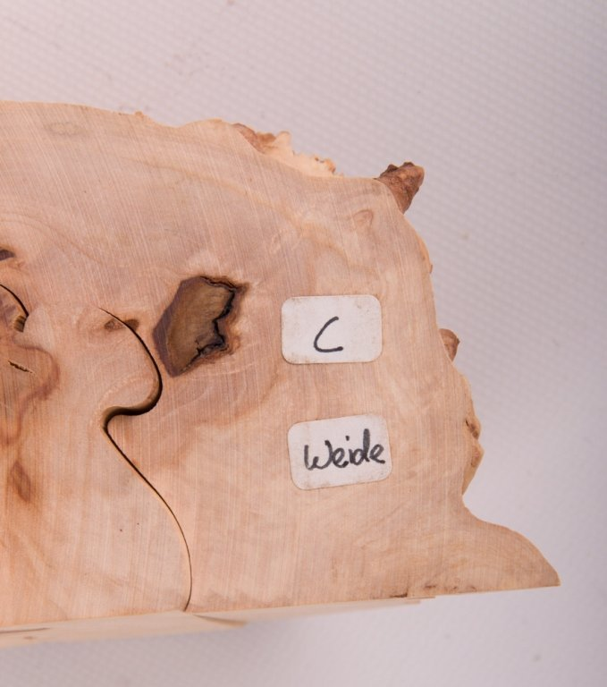 Wood Carved Collapsible Landscape Sculpture - 8