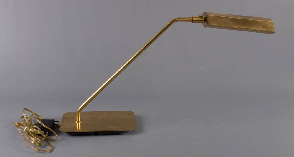 Koch & Lowy Brass Cantilevered Table Lamp