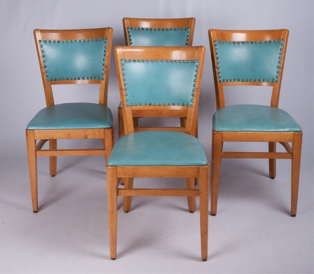 Thonet Dining Room Chairs, Four (4)