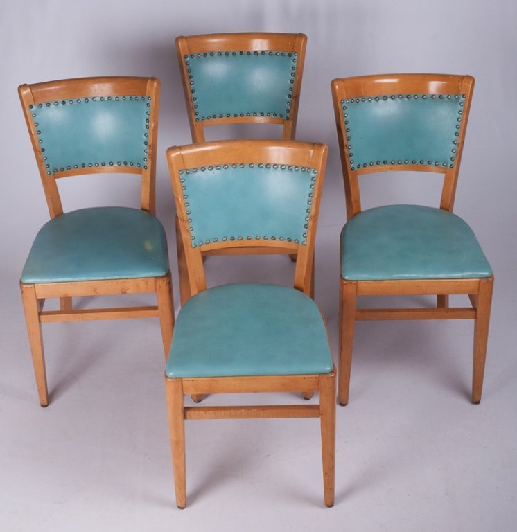 Thonet Dining Room Chairs, Four (4) - 2