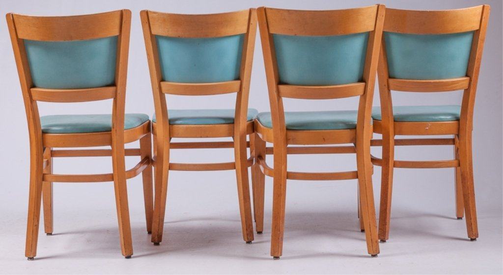 Thonet Dining Room Chairs, Four (4) - 4