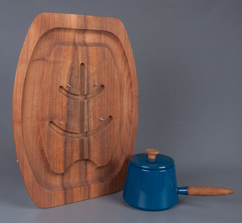 Copco Modern Enamelware & Carving Board