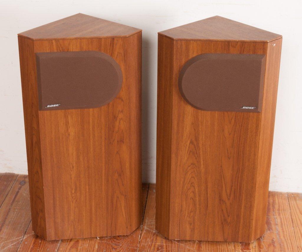 Bose 401 Direct/ Reflecting Speakers, Pair - 3