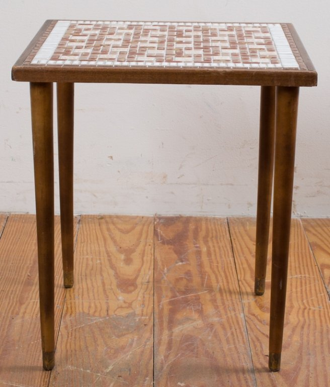 Modern Mosaic Tile Top Table - 2