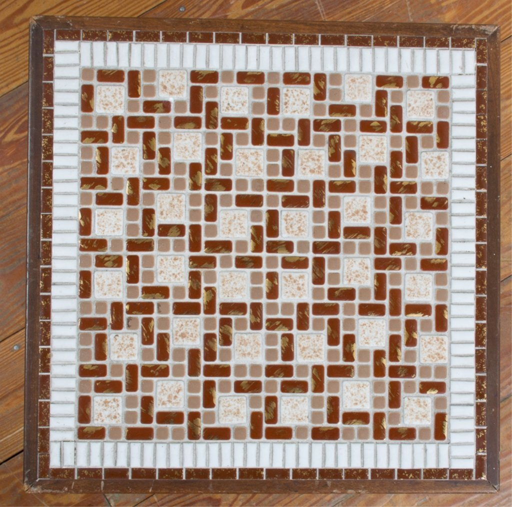 Modern Mosaic Tile Top Table - 3