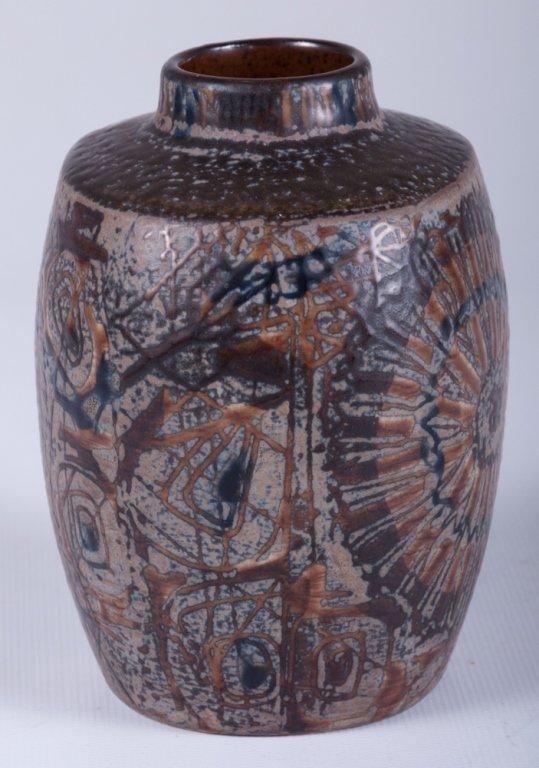 Nils Thorsson Royal Copenhagen Baca/ Fajance Vase - 3