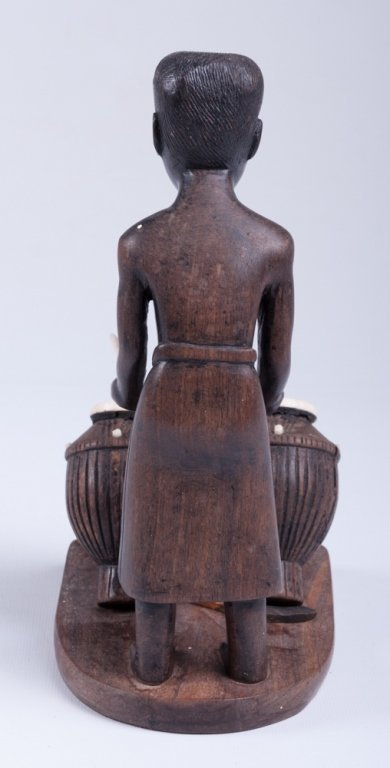 Vivaldo Santos Wood Carved Figure - 3