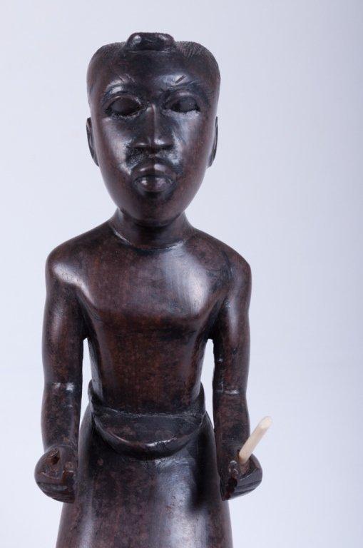 Vivaldo Santos Wood Carved Figure - 6