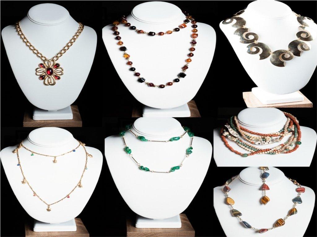 Vintage Costume Necklace Group, Incl. Napier
