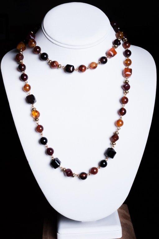Vintage Costume Necklace Group, Incl. Napier - 3