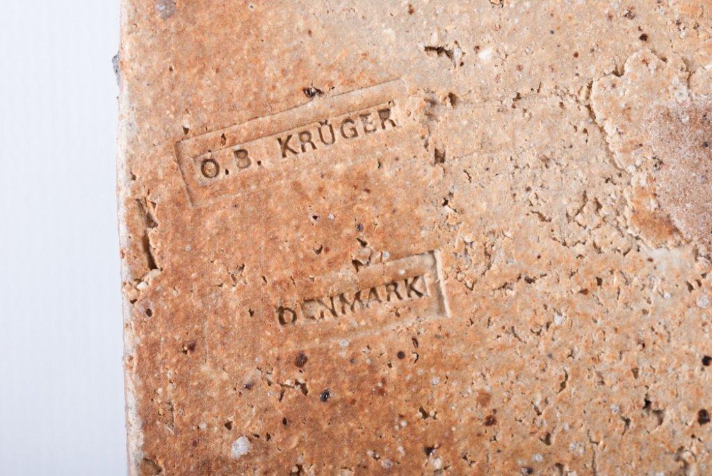 O.B. Kruger Danish Pottery Wall Art - 3