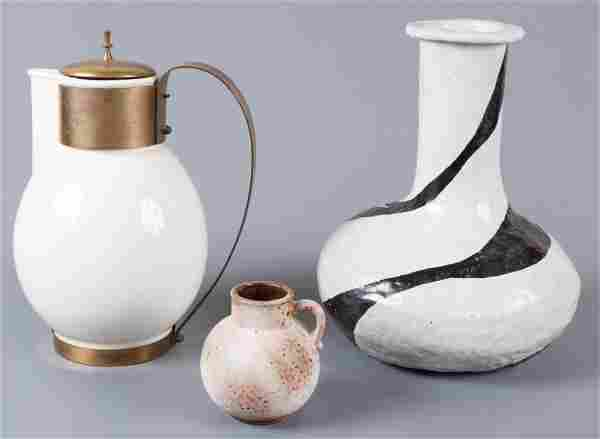 Mid-Century Modern Ceramics, Three (3)