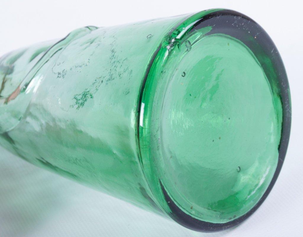 Erik Hoglund Modern Figural Glass Bottles, Two (2) - 3