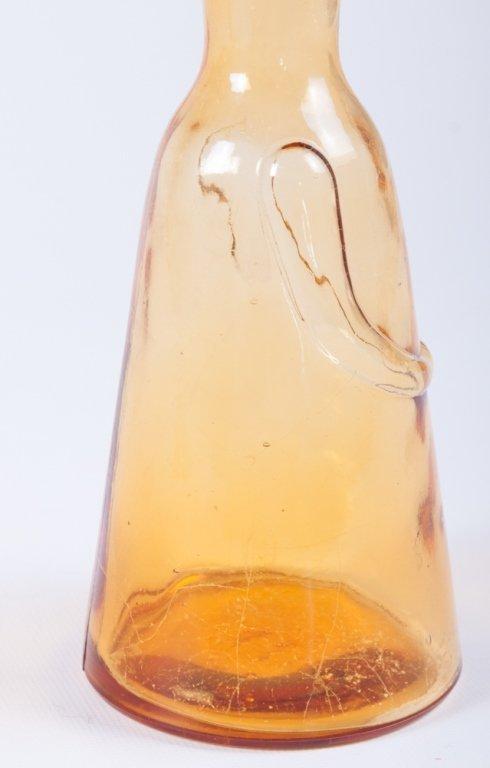 Erik Hoglund Modern Figural Glass Bottles, Two (2) - 6
