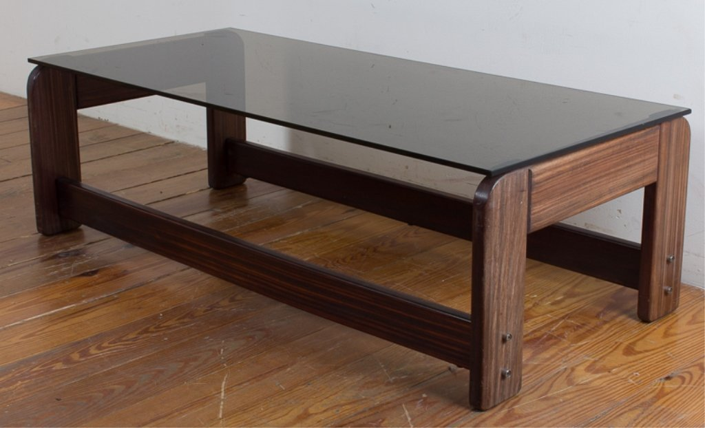 Rosewood Lafer Coffee Table