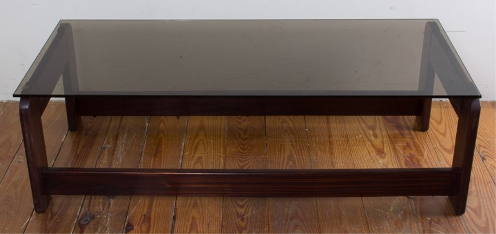 Rosewood Lafer Coffee Table - 2