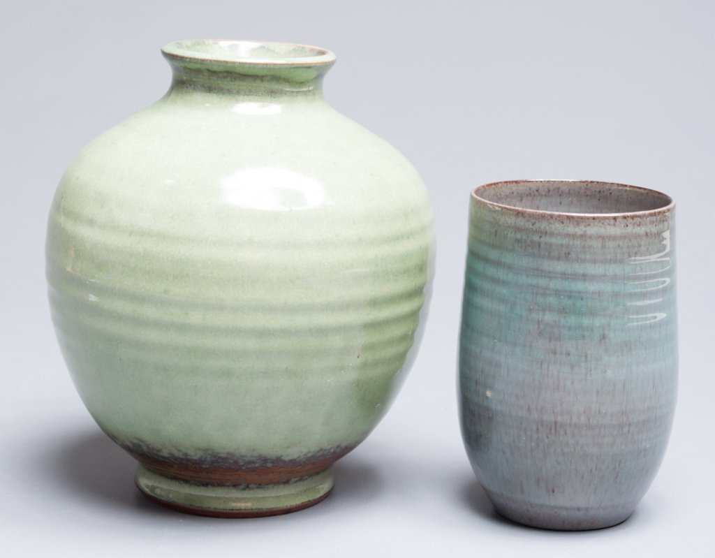Scheier Pottery Vase & Cup