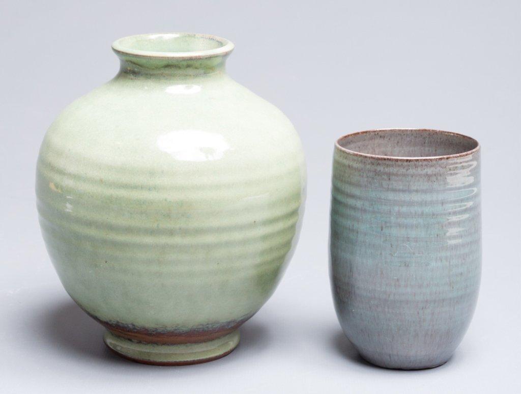 Scheier Pottery Vase & Cup - 2