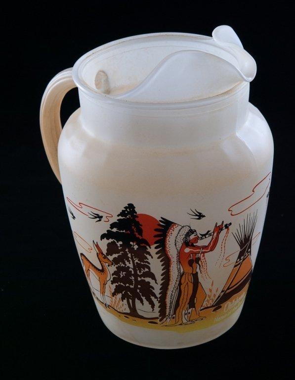 Blue Eagle Famous Oklahoma Indians Glassware, 19 - 6