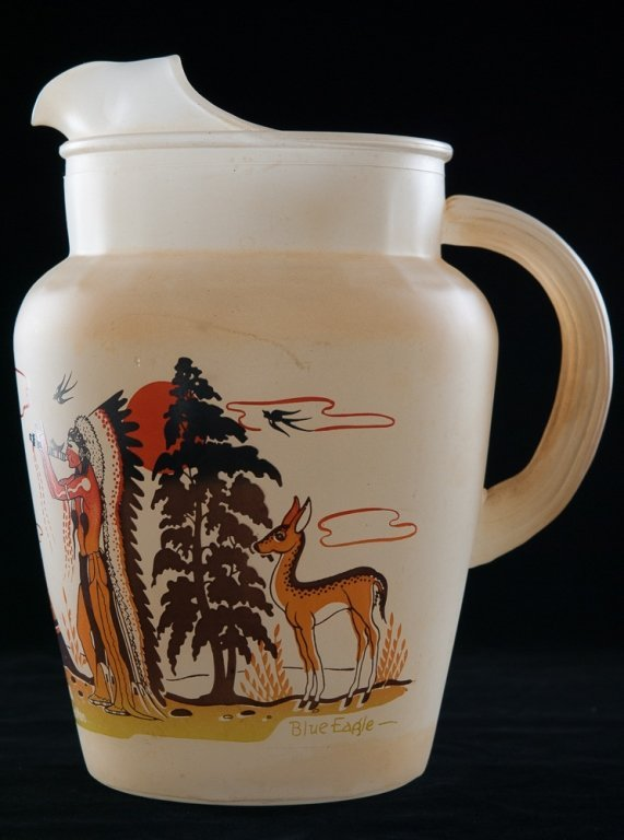 Blue Eagle Famous Oklahoma Indians Glassware, 19 - 7