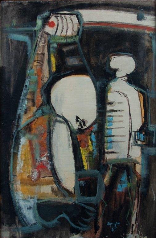 Jamison Pedra Prazeres Untitled Oil on Canvas