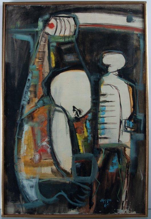 Jamison Pedra Prazeres Untitled Oil on Canvas - 2
