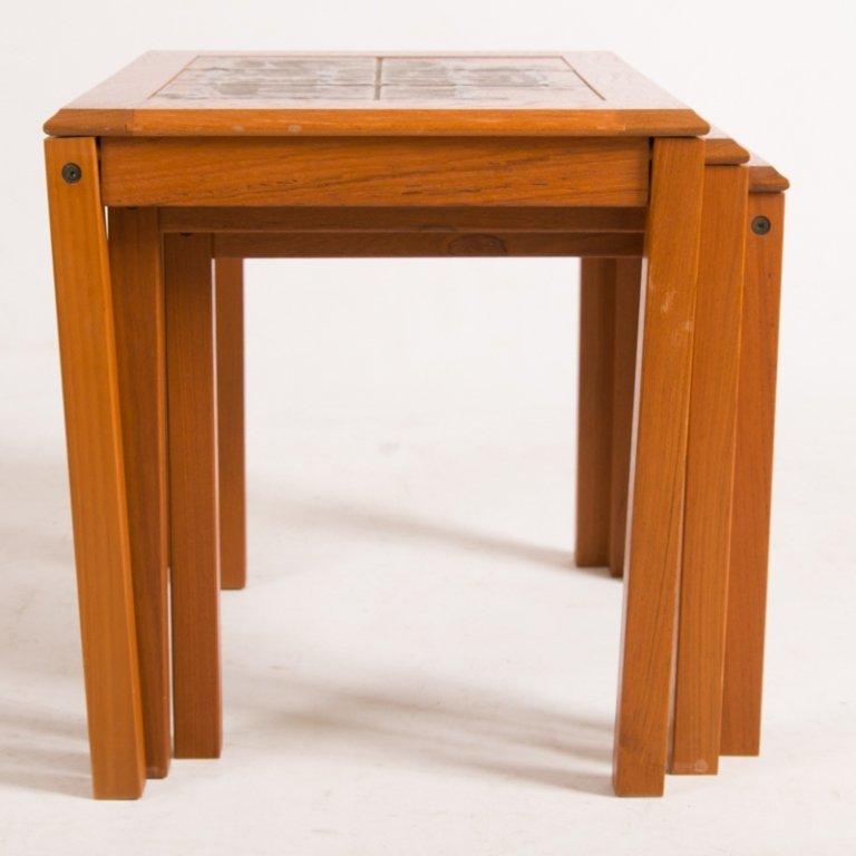 Trioh Danish Nesting Tables, Three (3) - 5