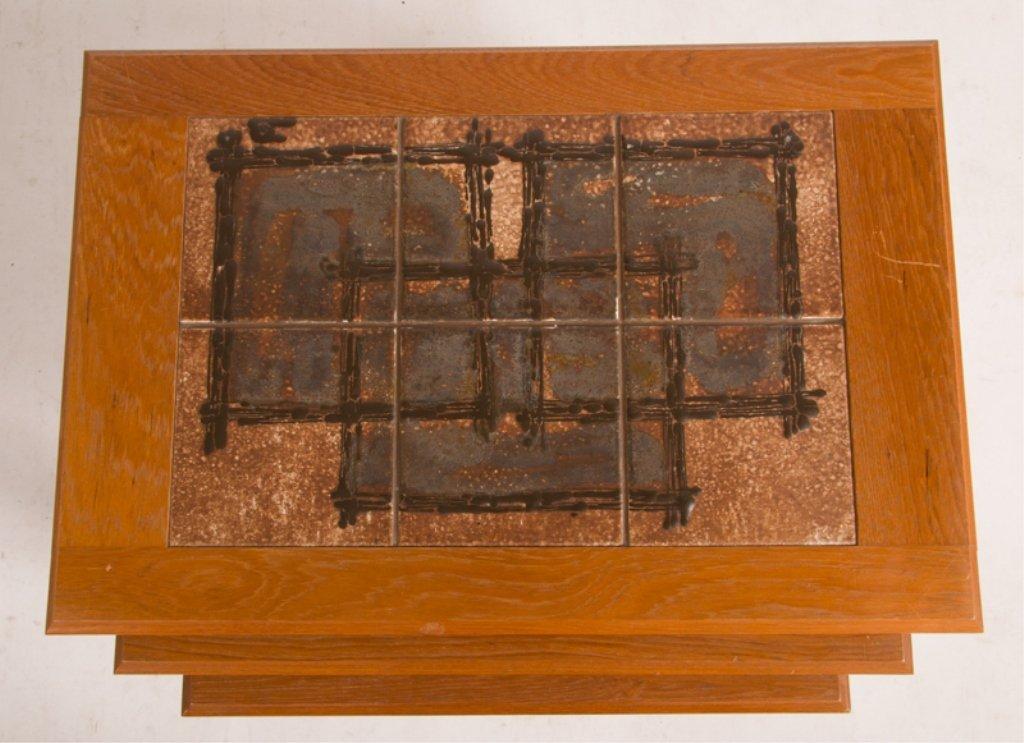 Trioh Danish Nesting Tables, Three (3) - 6