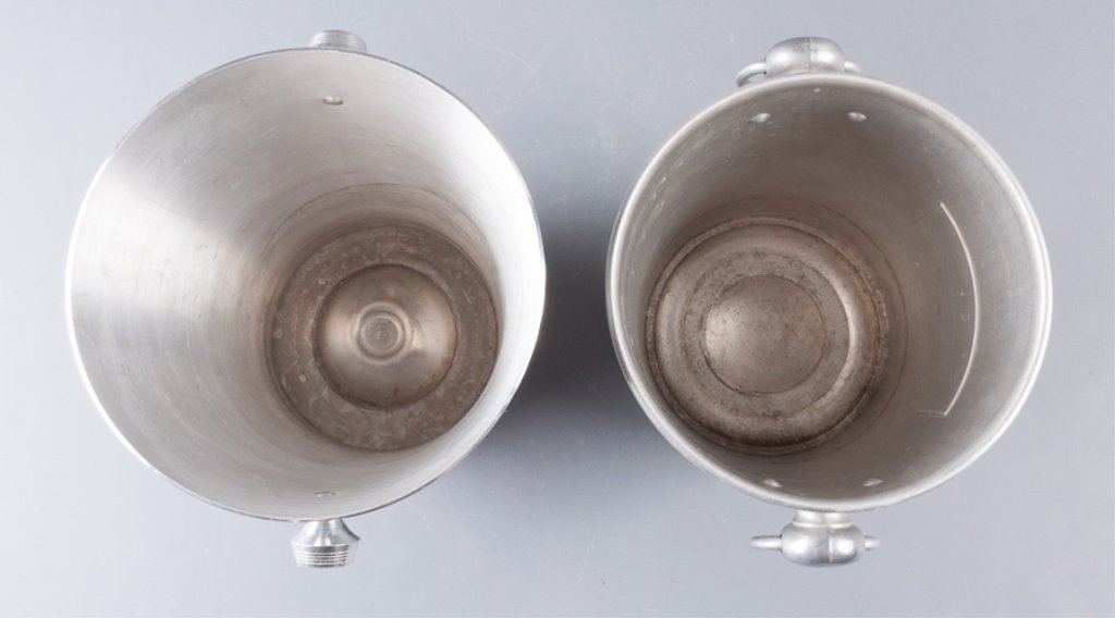 Aluminum Champagne Ice Bucket Coolers, Two (2) - 5