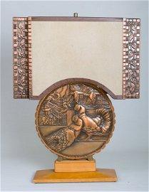 Albert Gilles Art Deco Lamp
