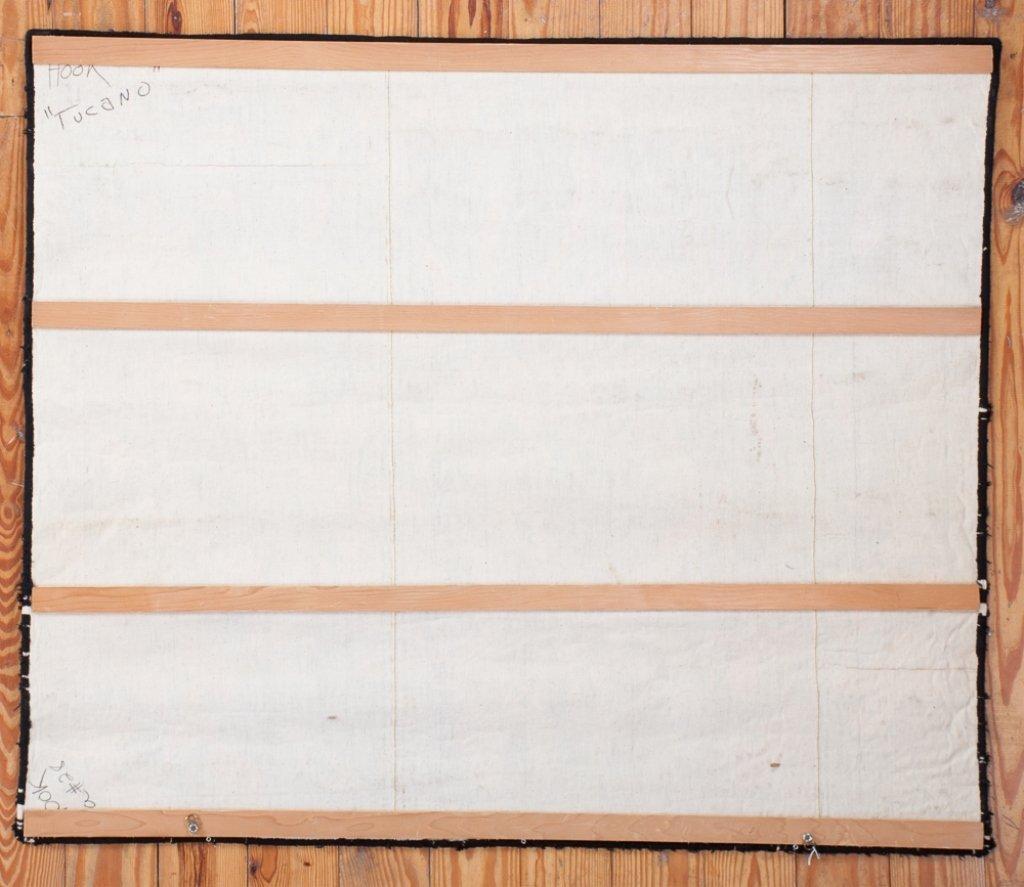 "Kennedy Bahia Needlepoint Tapestry, ""Borboletas"" - 2"