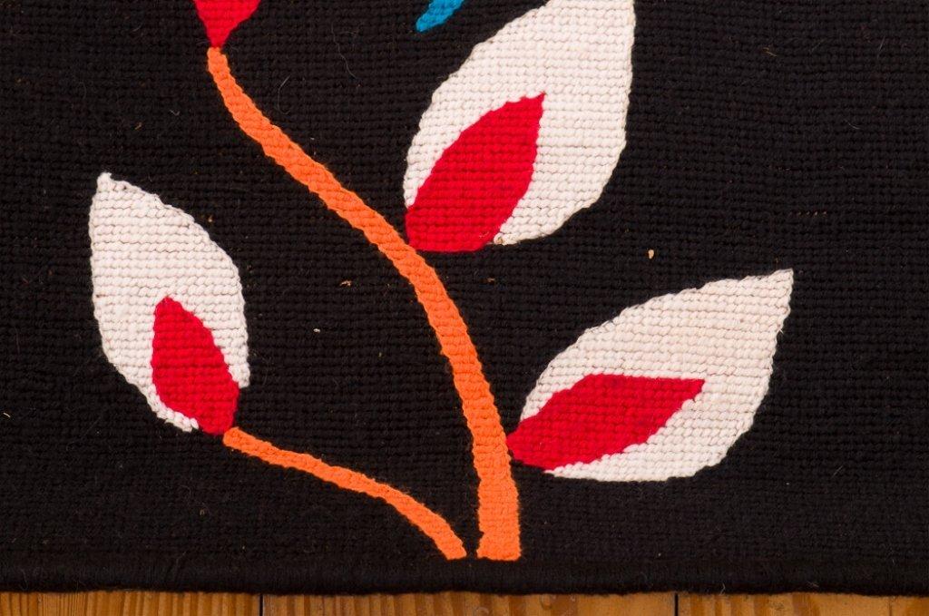 "Kennedy Bahia Needlepoint Tapestry, ""Borboletas"" - 4"