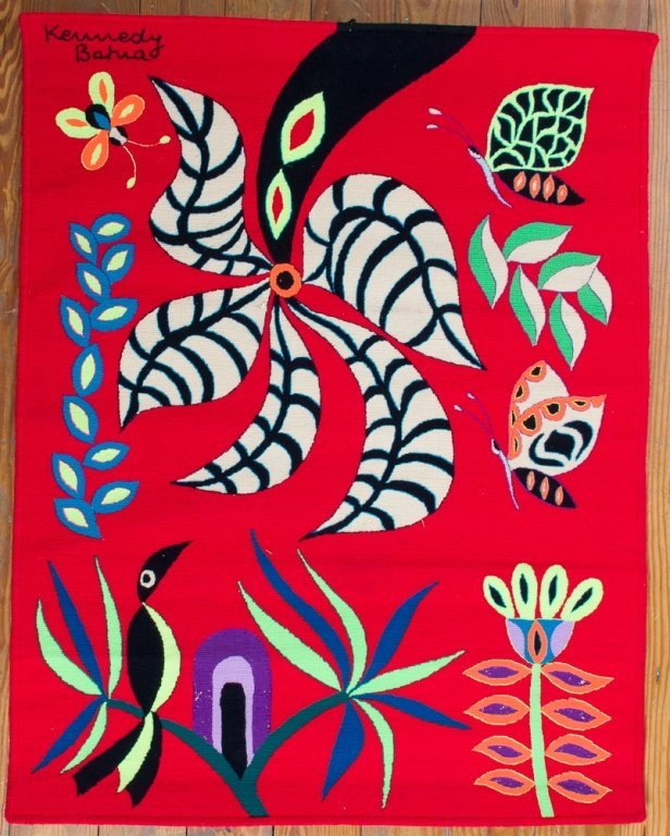"Kennedy Bahia ""Flor das Borobetas"" Tapestry"