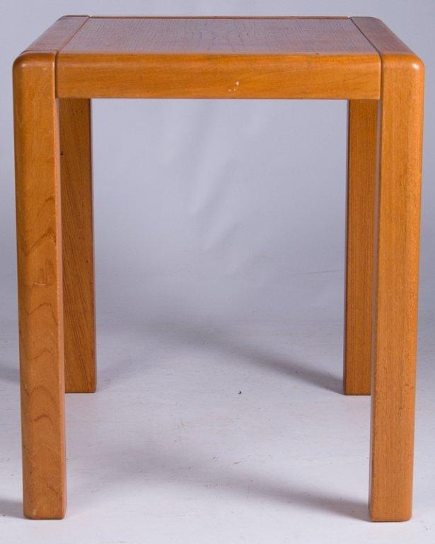 Danish Teak Side Table - 3