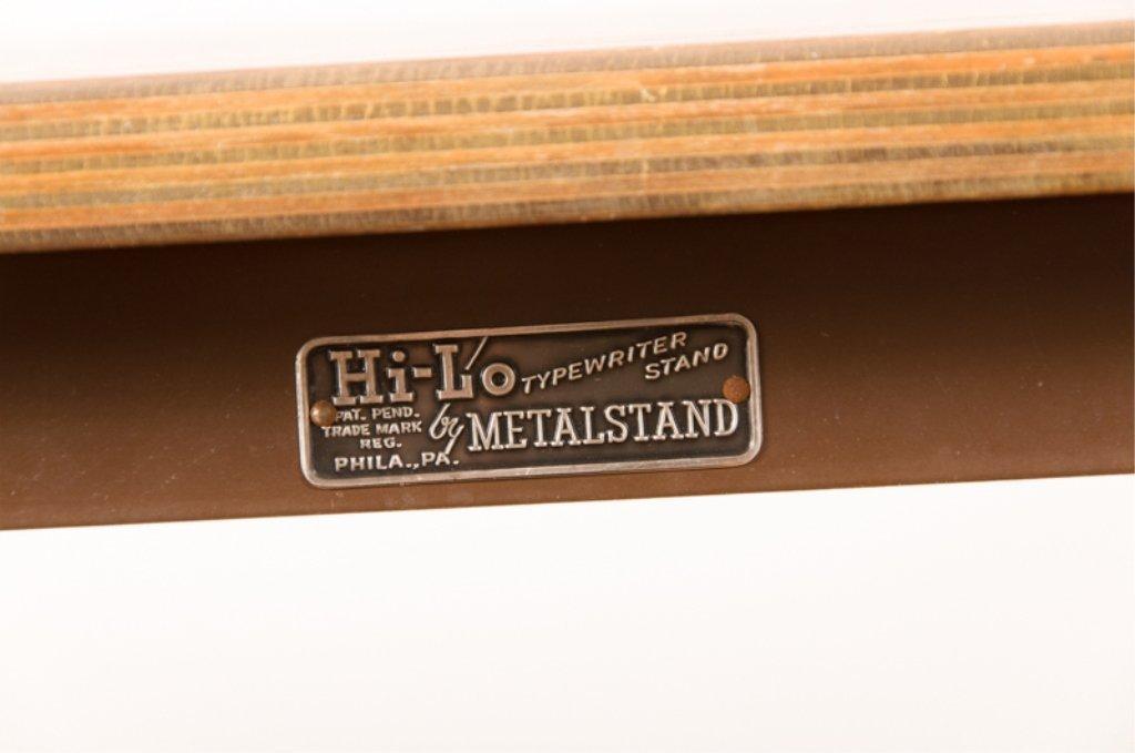 Hi-Lo Vintage Typewriter Stand by Metalstand - 2