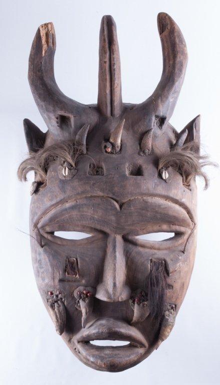 Liberian Poro Society Mask