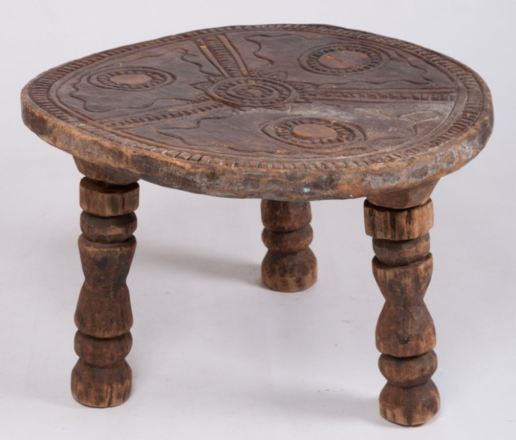 Liberian Ceremonial Table, Gola Tribe