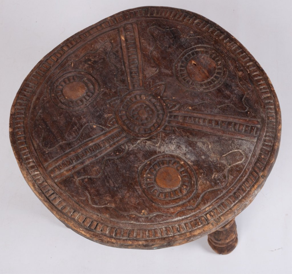 Liberian Ceremonial Table, Gola Tribe - 3