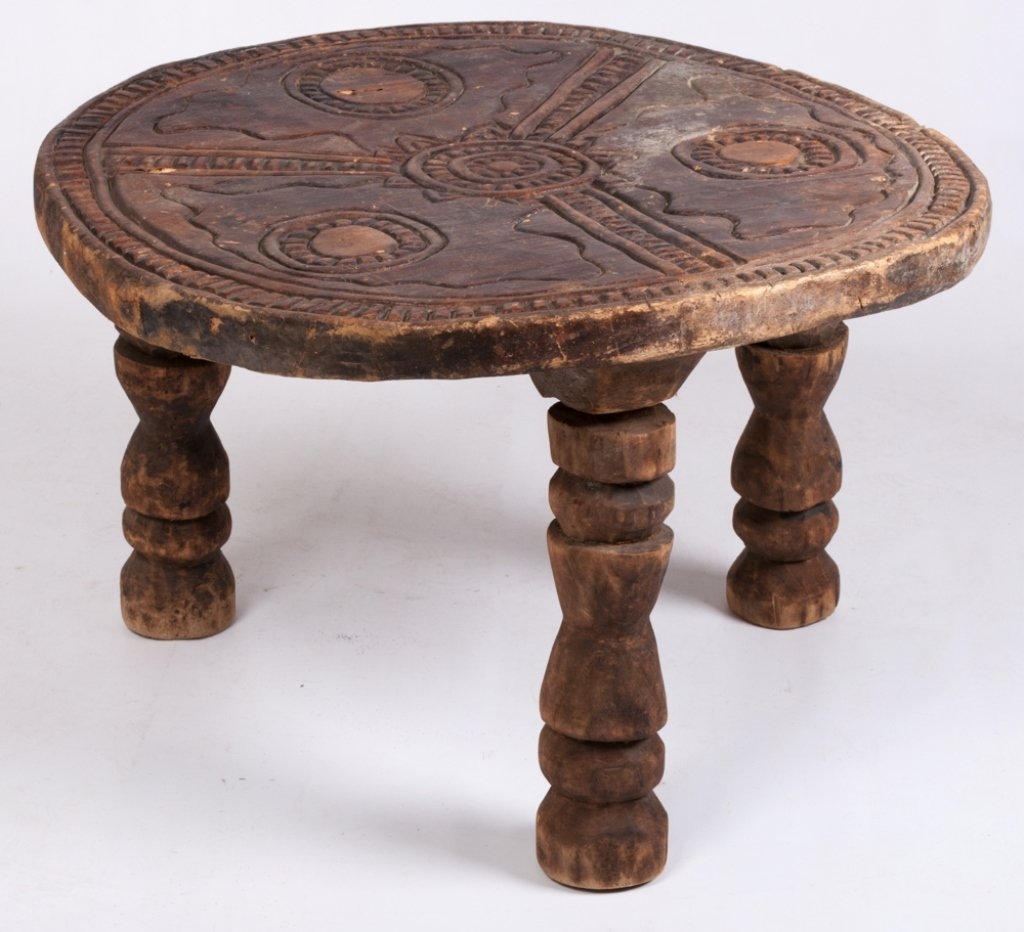 Liberian Ceremonial Table, Gola Tribe - 7