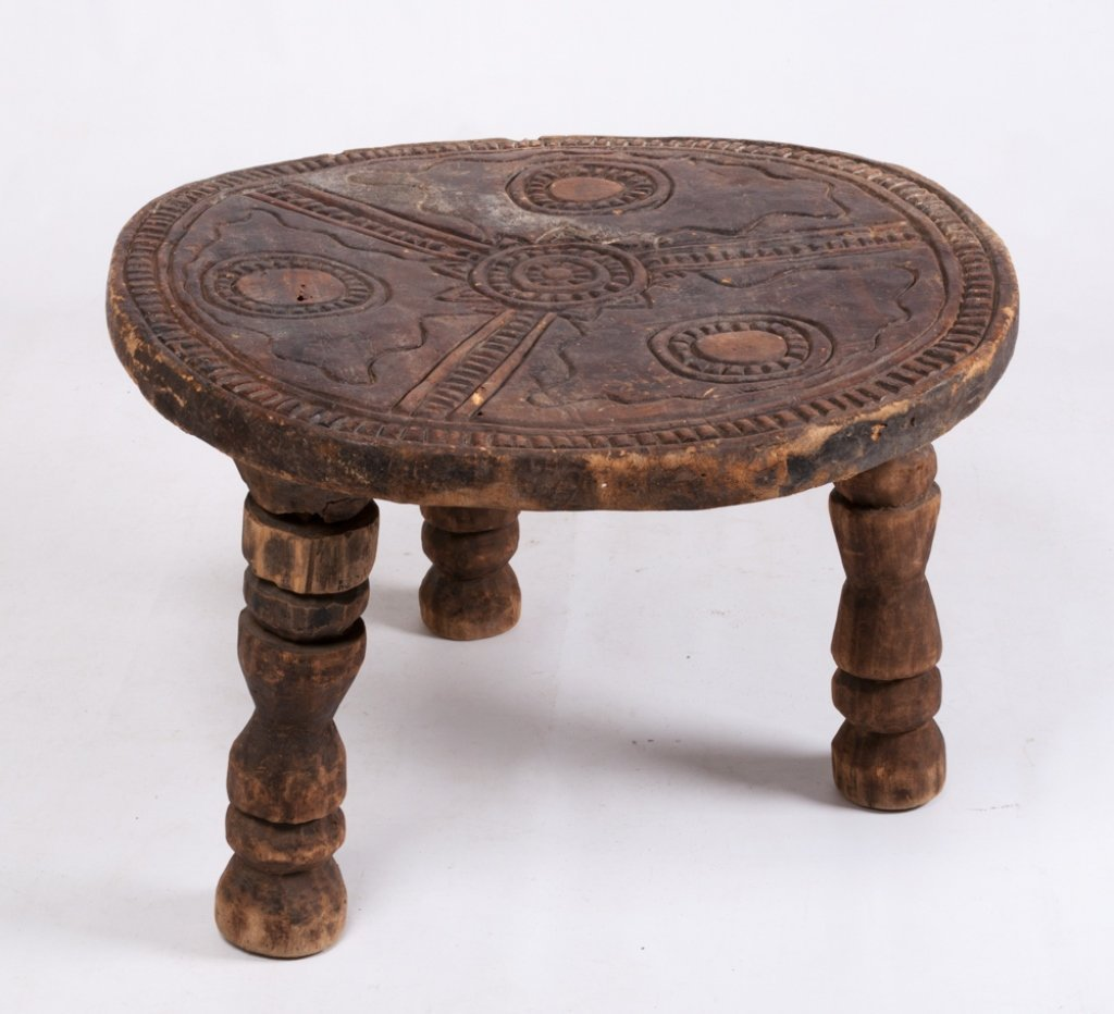 Liberian Ceremonial Table, Gola Tribe - 8