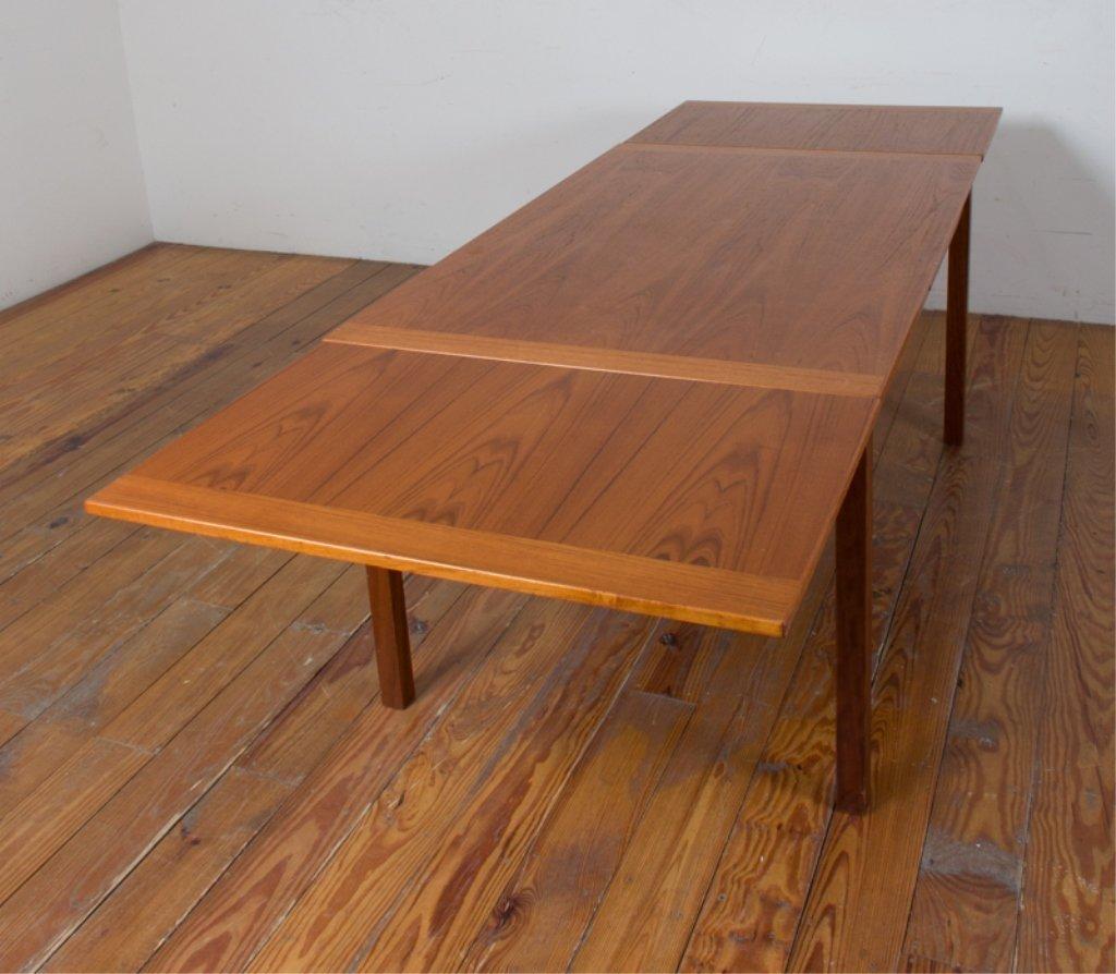 Danish Teak Dining Table - 5