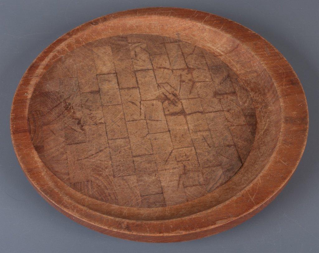 Dansk Designs Wood Round Platter - 2