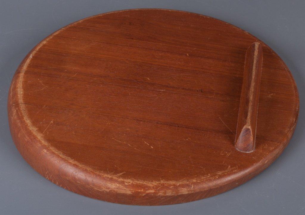Dansk Designs Wood Round Platter - 3