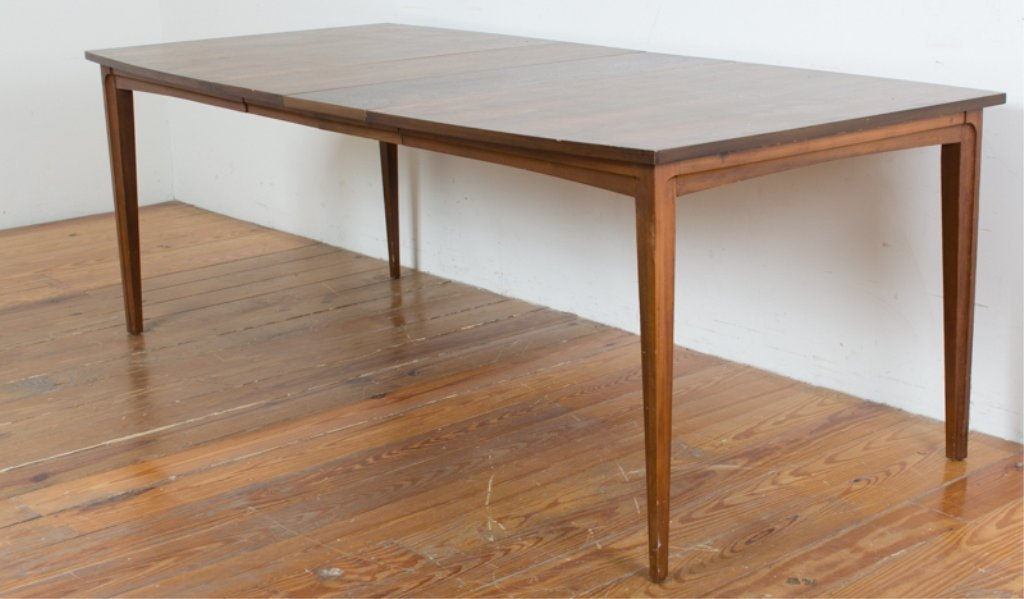 Mid-Century Dining Table w/ Leaves
