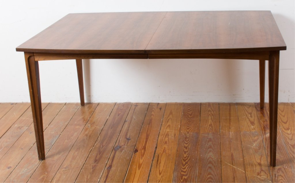 Mid-Century Dining Table w/ Leaves - 5