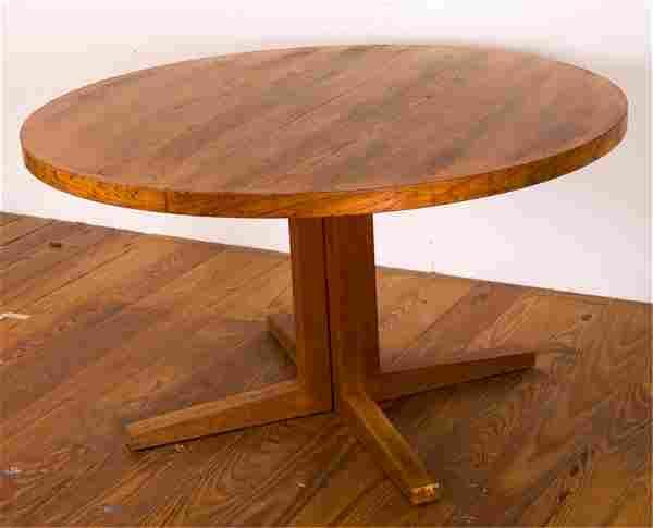 Heltborg Mobler Danish Pedestal Dining Table