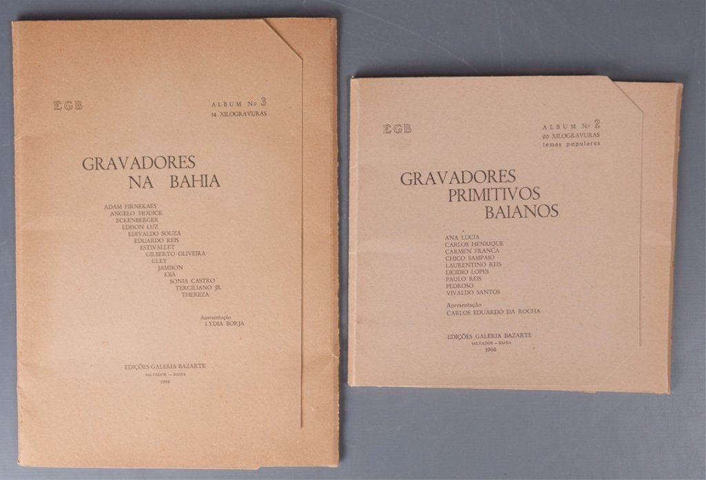 Bahia Woodcut Albums, Two (2)