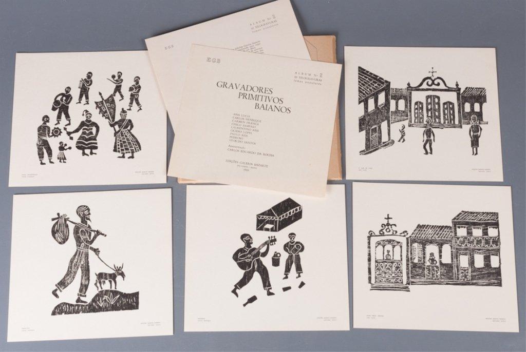 Bahia Woodcut Albums, Two (2) - 2