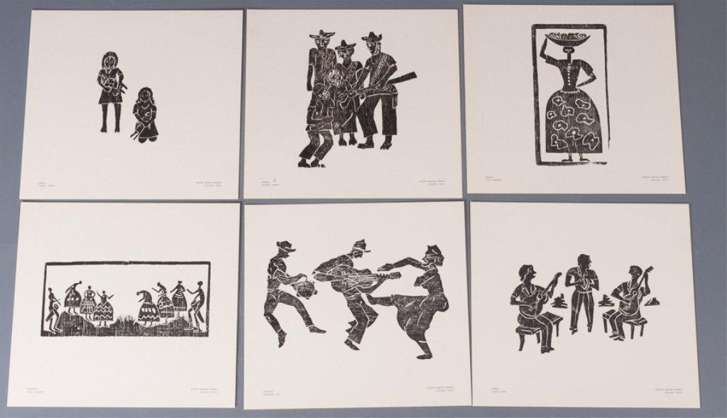 Bahia Woodcut Albums, Two (2) - 3