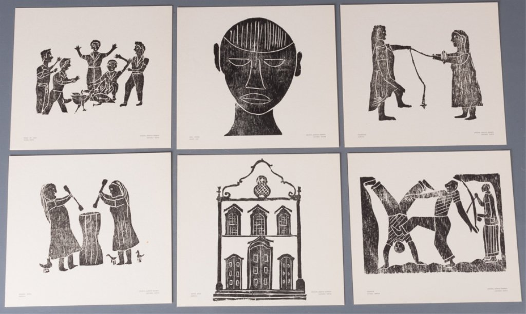 Bahia Woodcut Albums, Two (2) - 4